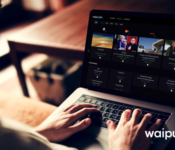 WAIPU.TV RECHTZEITIG ZUM FUSSBALL-SOMMER AUCH AUF DEM PC UND AUF DEM TABLET