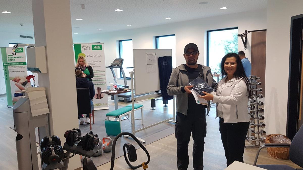 Gesund im Job: SIMEON Medical veranstaltet Gesundheitstag in Kooperation mit der AOK Schwarzwald-Baar-Heuberg und der Physiotherapie Praxis Bank aus Bad Dürrheim (c) SIMEON Medical