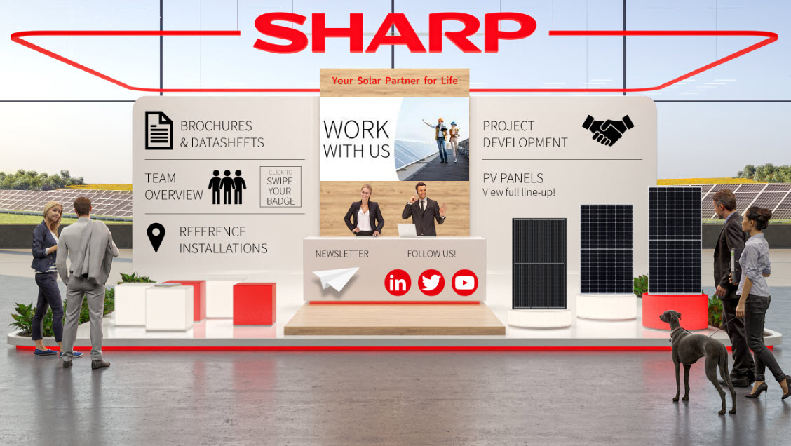 Sharp Energy Solutions auf der Solar & Storage DigiCon