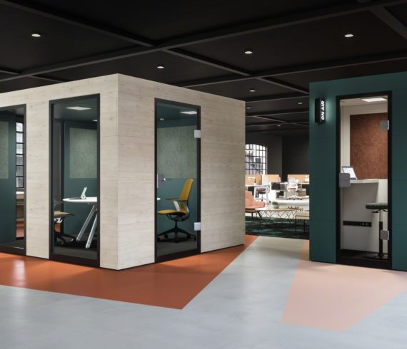 Steelcase vertreibt Officebricks in Europa, Afrika und im Nahen Osten