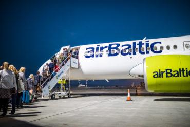 Von Österreich ins Baltikum: airBaltic erweitert Winterflugplan - Copyright airBaltic