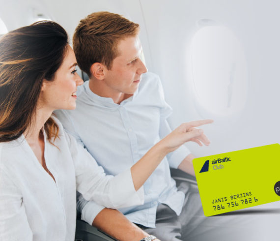 Innovatives Treueprogramm bei airBaltic: Der airBaltic Club