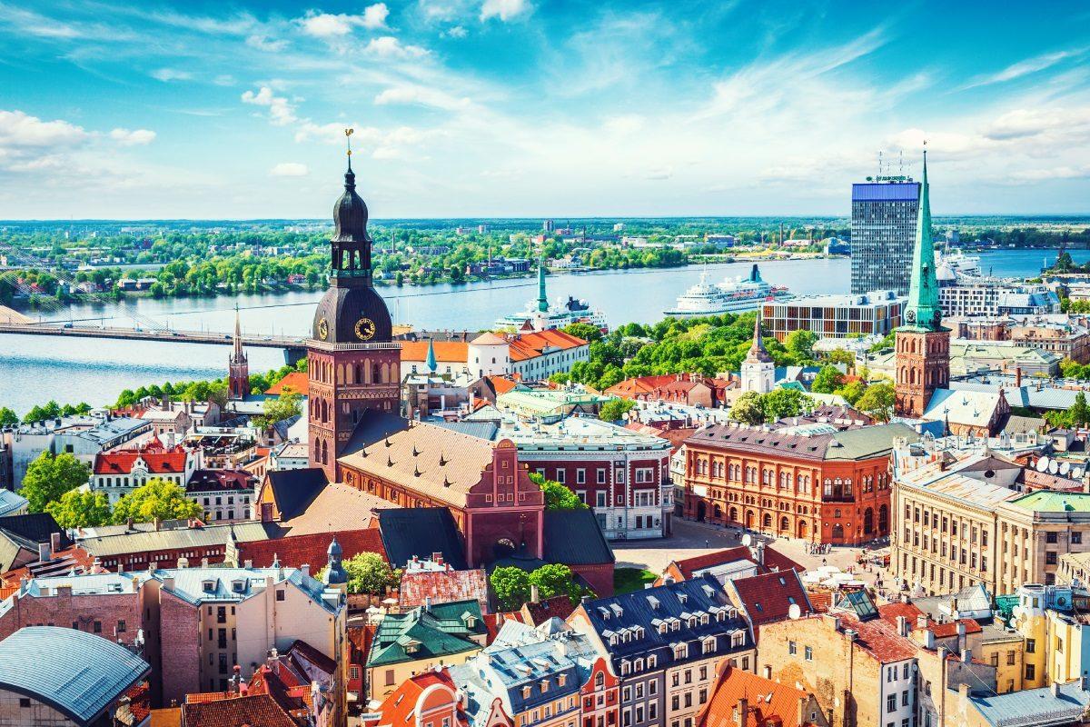 Mit airBaltic von Berlin nach Riga
