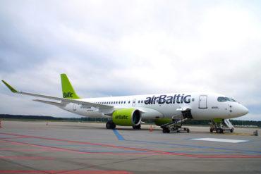 Die Flottenmodernisierung schreitet voran: Der 19. Airbus A220-300 mit der Kennung YL-AAS