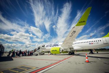 Zum Sommer 2020 nimmt airBaltic fünf neue Reiseziele in ihren Flugplan auf - Copyright airbaltic