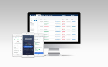 Die neue Mobile App von Shippeo vereinfacht papierlosen Transport und das Scannen von Paletten. (Bildquelle: Shippeo)