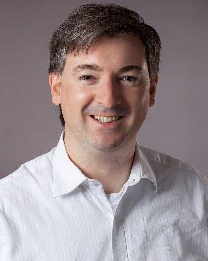 Dr. John De Roche, Direktor Innovation und Entwicklung bei aentron