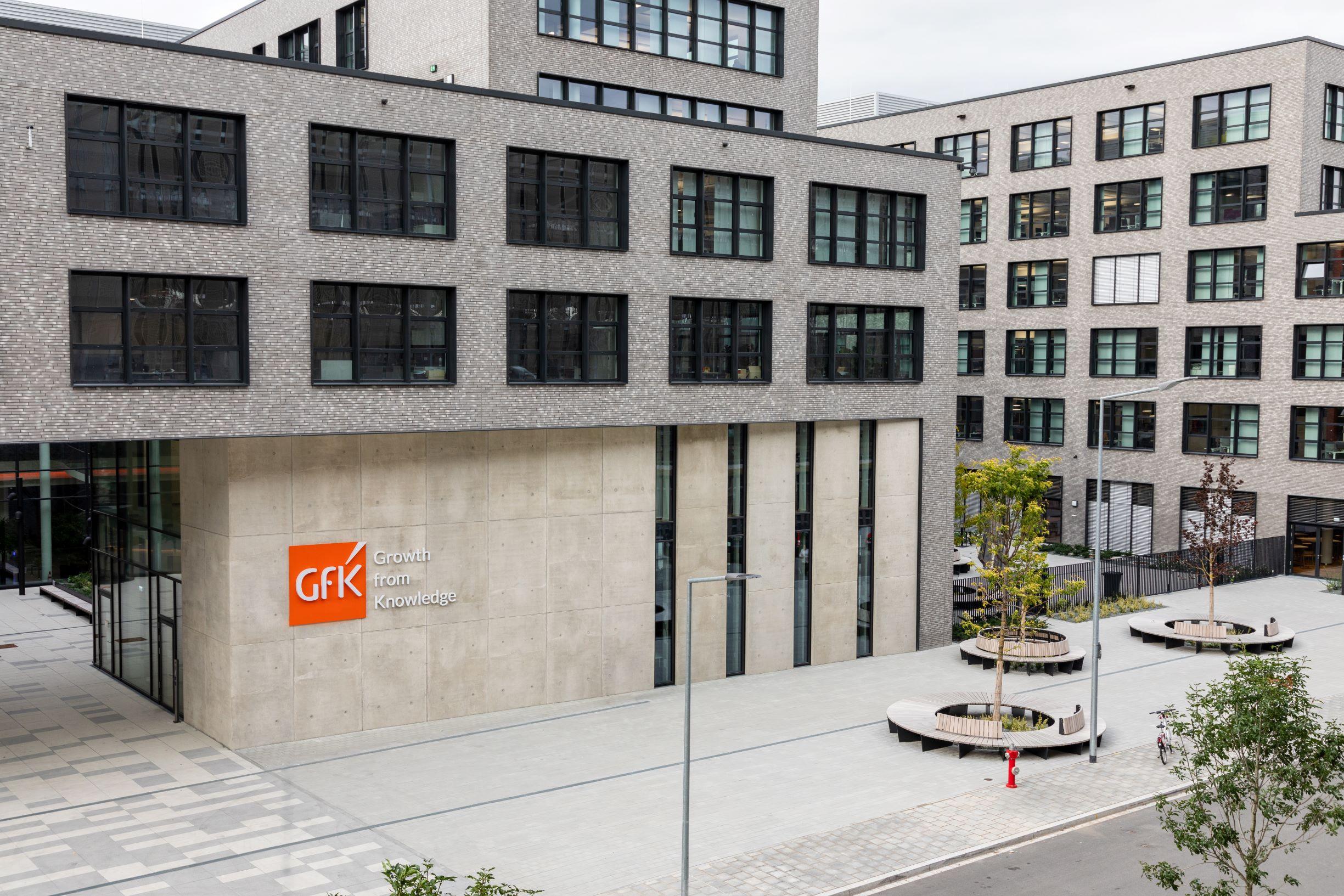GfK Orange Campus in Nürnberg