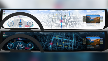 HERE und Unity ermöglichen 3D Nutzererfahrung in der Fahrzeugnavigation. Bildquelle: HERE