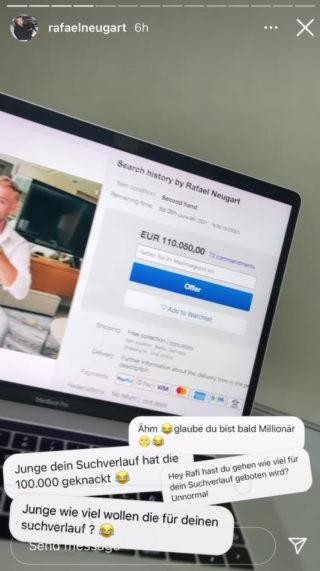 Instagram-Promi verkauft seine Privatsphäre