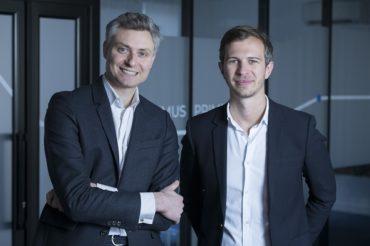 Begrüßen mit Battery Ventures einen neuen Investor: Die Shippeo-Gründer CEO Pierre Khoury und COO Lucien Besse (Bildquelle: Shippeo)
