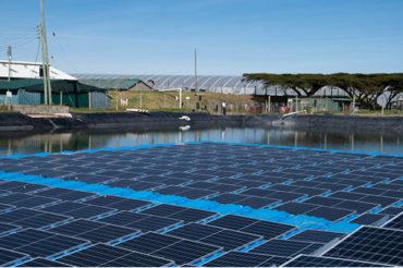 ecoligo realisiert Kenias erste schwimmende Solaranlage