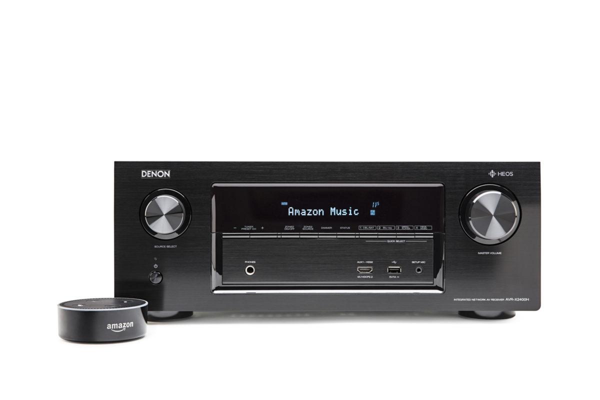 Denon AVR-X2400H mit Amazon Alexa