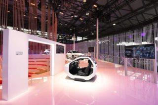 Audis Smart Cockpit mit integriertem Tmall Genie Auto.