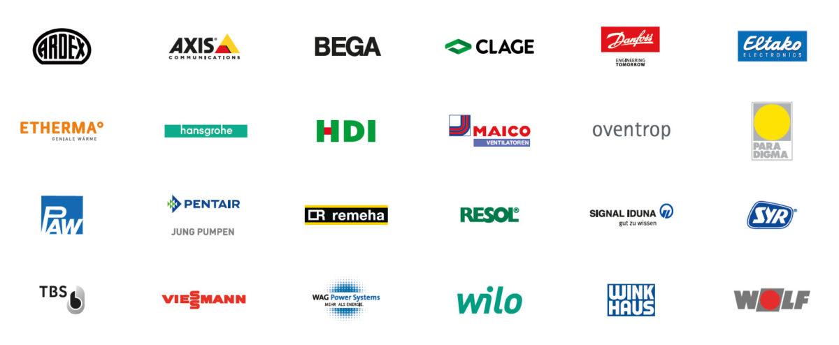 Unternehmen und Hersteller der wibutler-Allianz