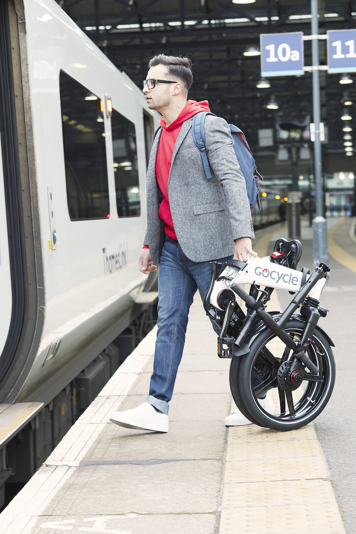 Gocycle GX - Transport