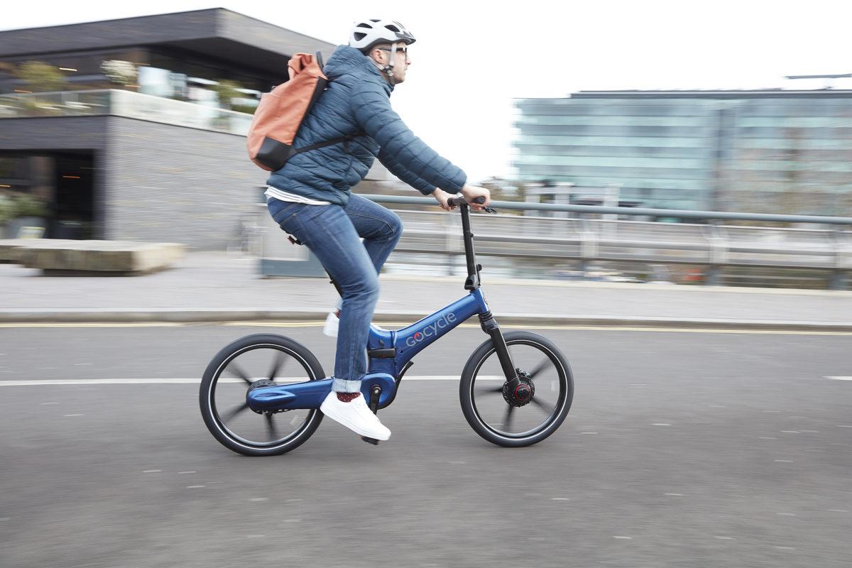 Gocycle GX - Unterwegs