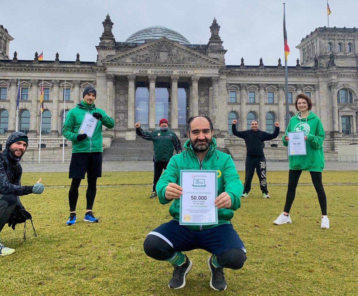 Joggen fürs Klima: Ecoligo pflanzt 50.000 Bäume mit Berliner Green Runners
