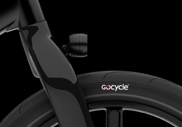 Carbon-Vorderradgabel des Gocycle G4, Copyright: Gocycle