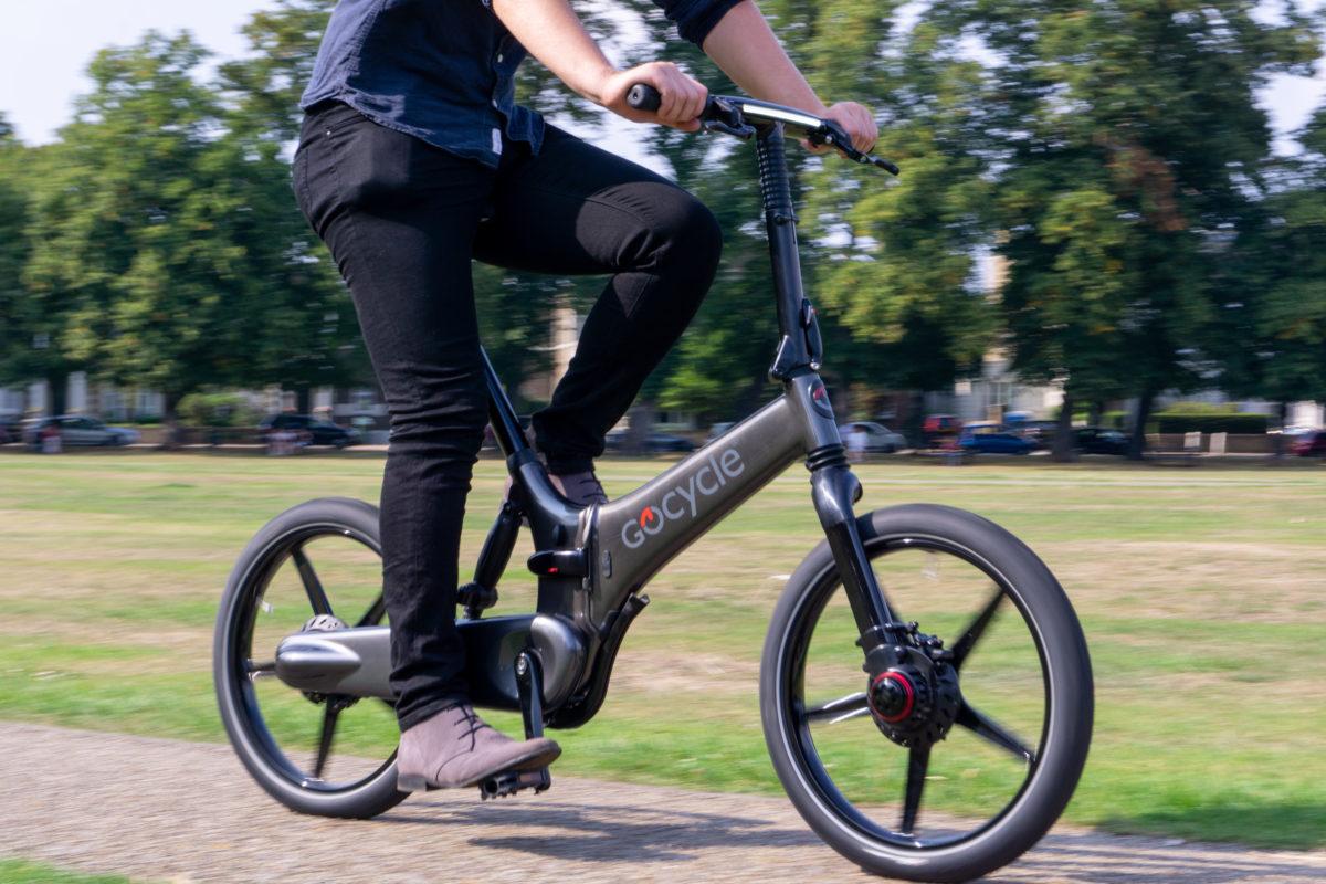 Gocycle GXi riding