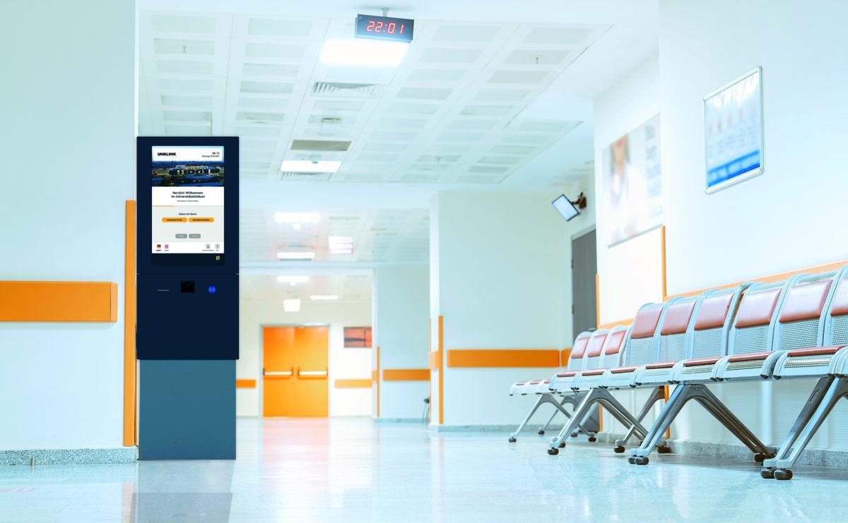 Schauf Personenaufrufanlage im Krankenhaus