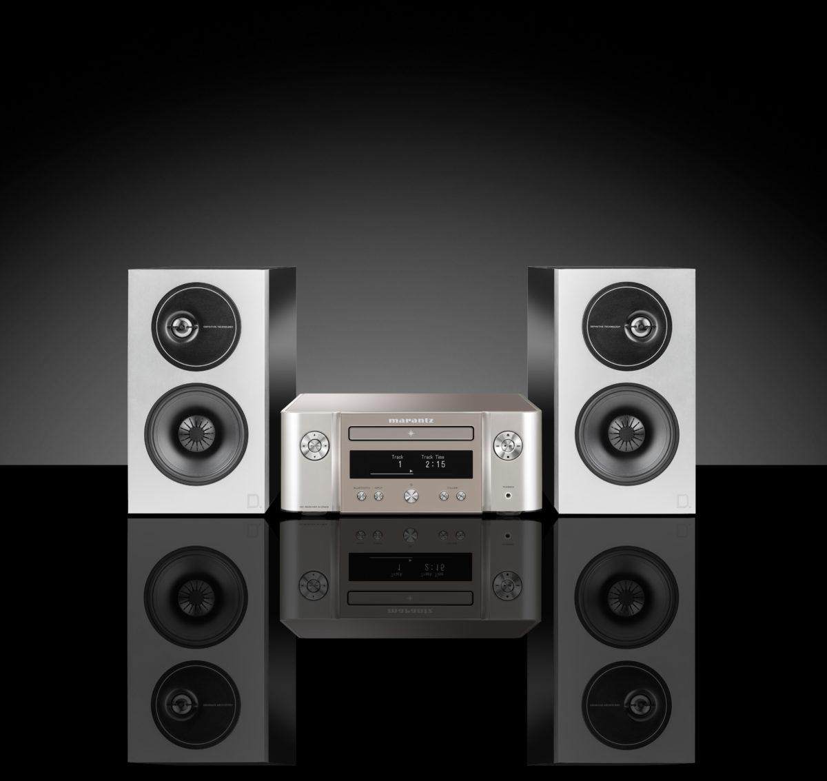 Marantz M-CR412 + Definitive Technology Demand D7 speakers