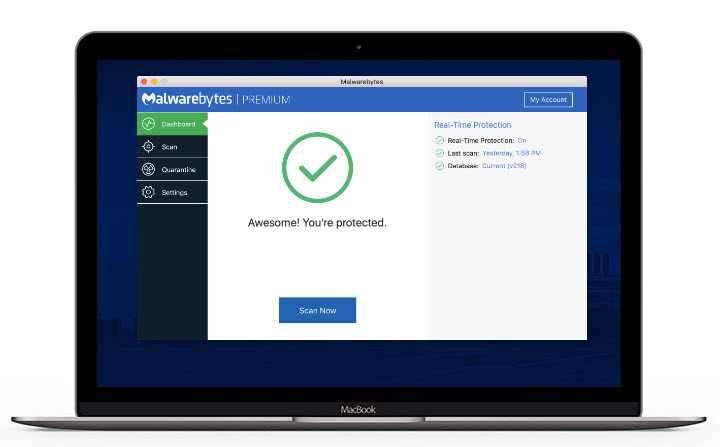Malwarebytes für Mac