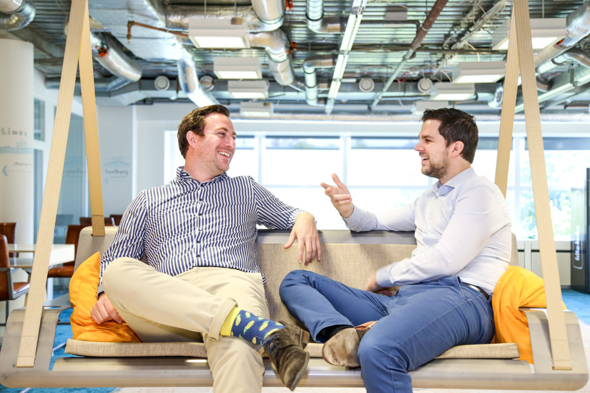 ecoligo Gründer Martin Baart und Markus Schwaninger