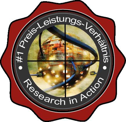 FNT GmbH ist Sieger im Preis-Leistungsverhältnis. Research in Action 2020