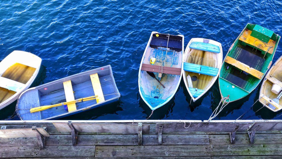 Boote mit dem OnePlus 6T aufgenommen