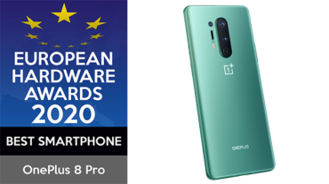 Das OnePlus 8 Pro gewinnt den EHA Award für das beste Smartphone 2020, Copyright: OnePlus