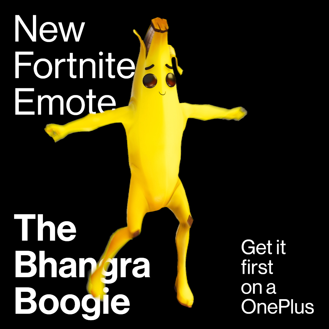 "OnePlus Epic Games Fortnite Emote ""Bhangra Boogie"""