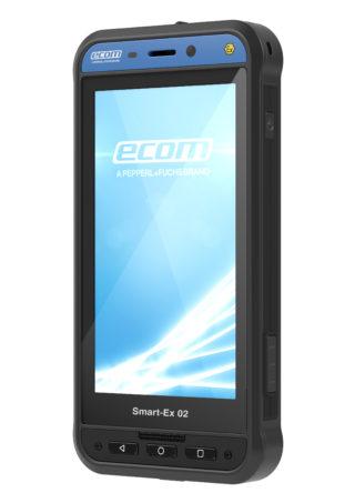 Neu von ecom: das explosionsgeschützte 4G/LTE-Android-Smartphone Smart-Ex 02 (CR: Pepperl+Fuchs)