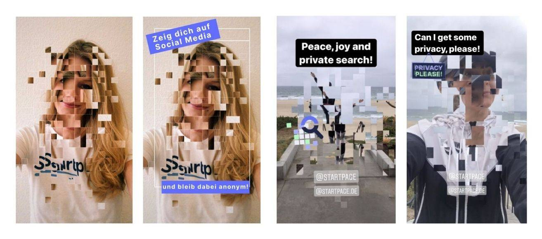 Startpage Go Private Instagram Filter