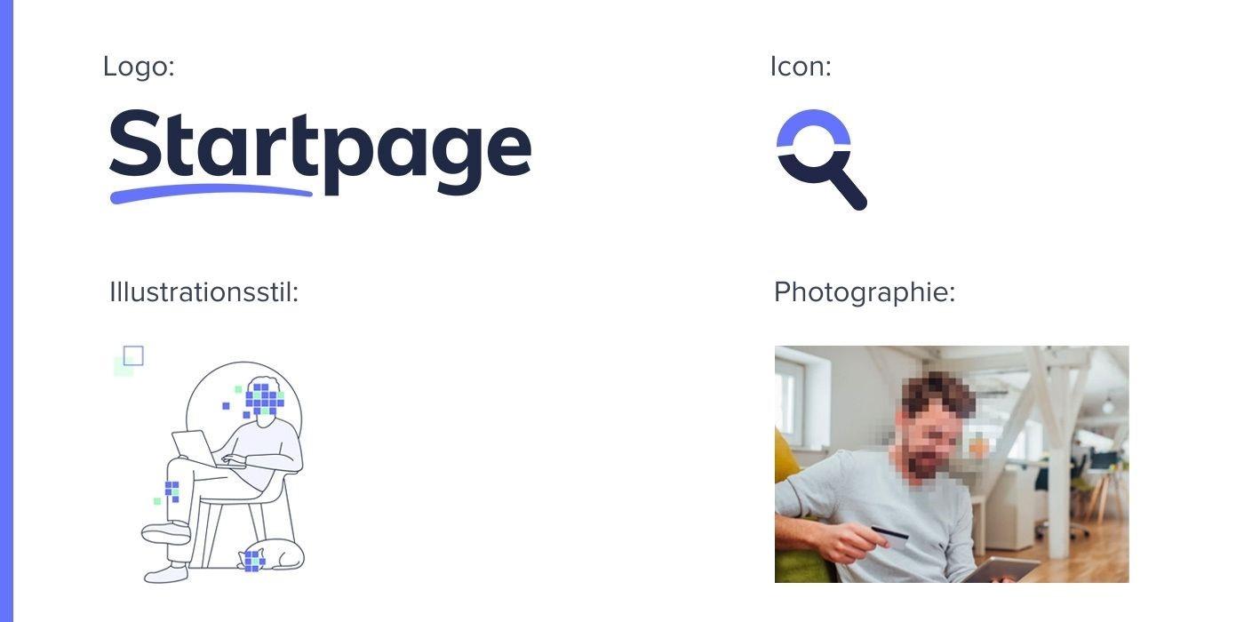 Startpage Redesign_Logo Icon Illustrationsstil Photographie