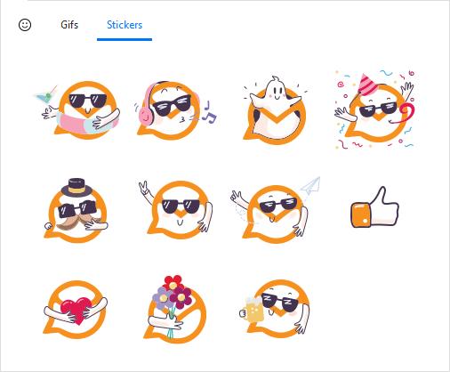 eM Client Stickers
