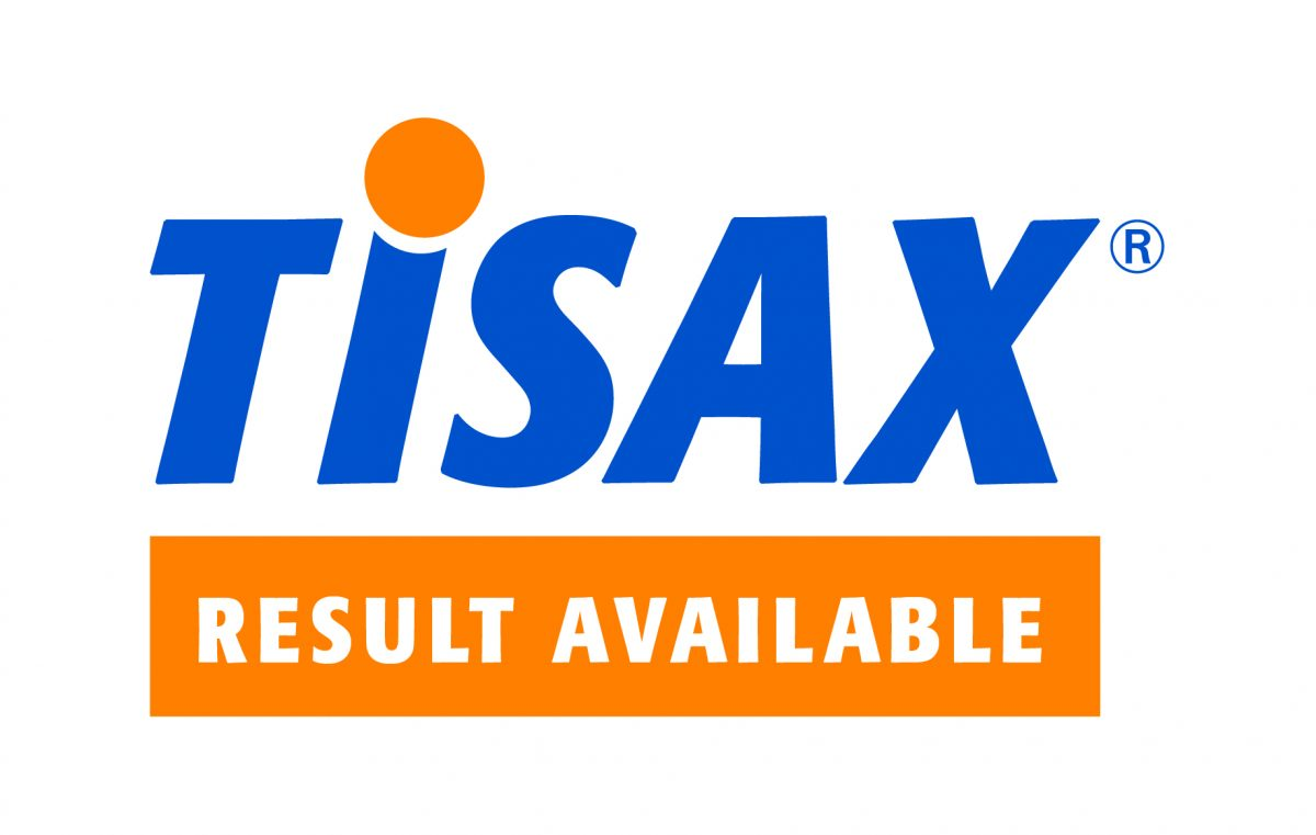 TISAX Result available Logo