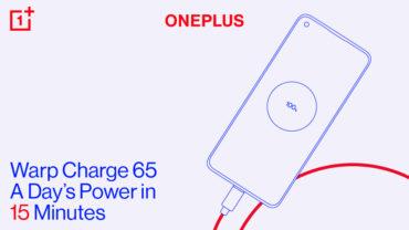 OnePlus Warp Charge 65, Copyright: OnePlus