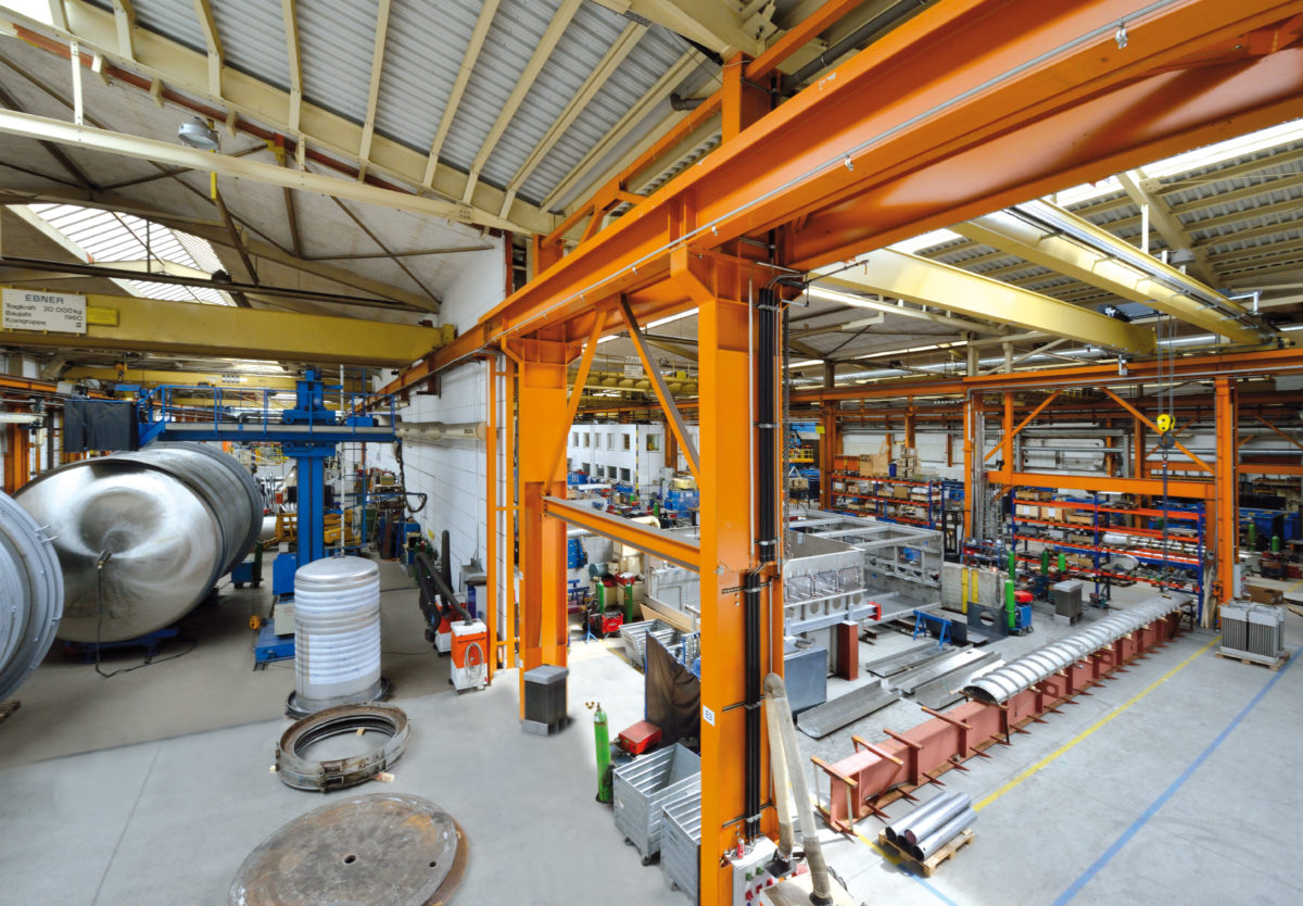 Ebner Fertigung in Leonding (Copyright Ebner Industrieofenbau GmbH)