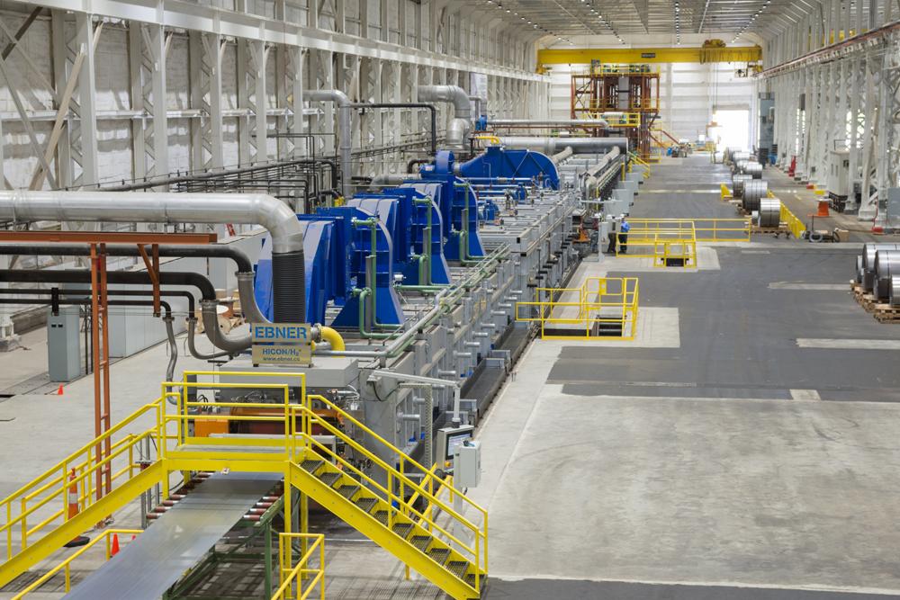 ertigungsanlage bei Ebner Industrieofenbau (Copyright Ebner Industrieofenbau GmbH)
