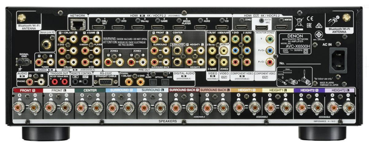 AVC-X6500H Heimkino-Verstärker