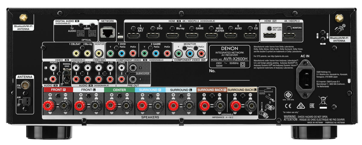 Denon AVR X2600H
