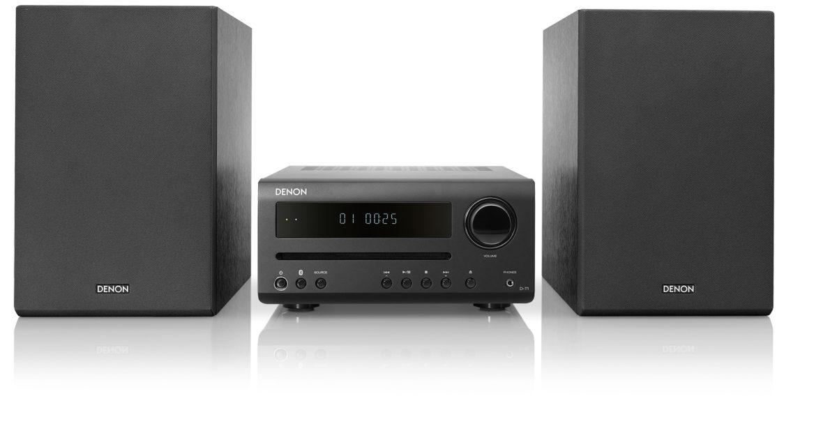 Ultra-kompaktes Hi-Fi-System D-T1