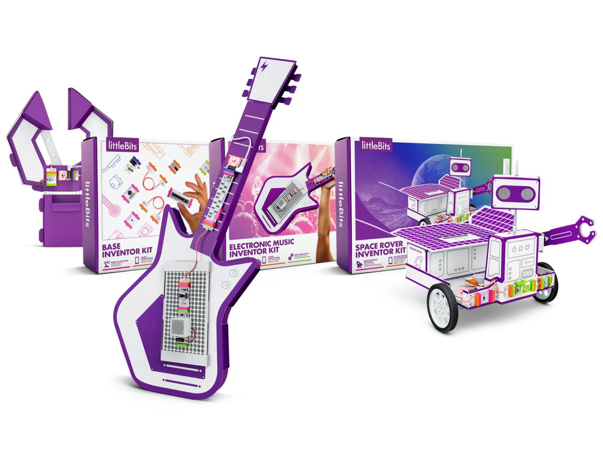 """Die Zukunft im Wohnzimmer: littleBits stellt neue """"Inventor Kits"""" vor und ermutigt Kinder dazu, die Welt zu verändern"""