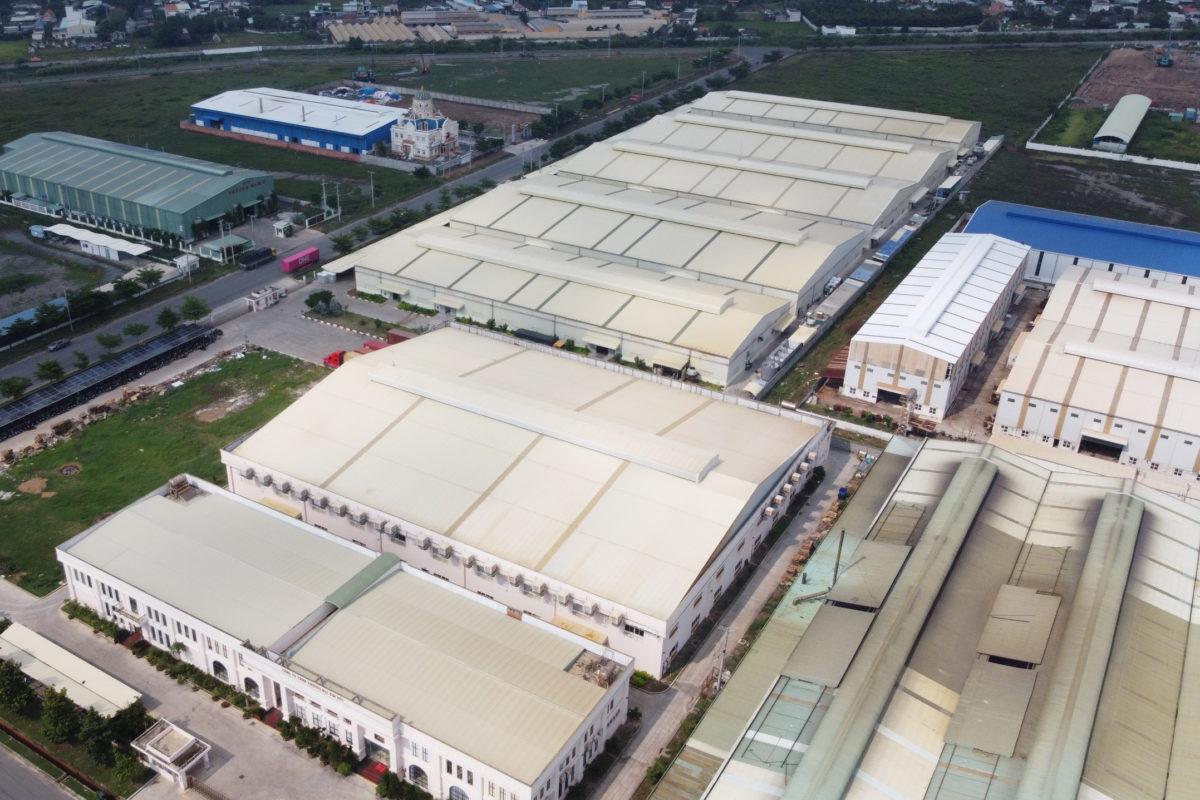 ecoligo, geplante 1,2 MWp Aufdach-Solaranlage bei globalem Produktionsbetrieb Kim Duc in Vietnam