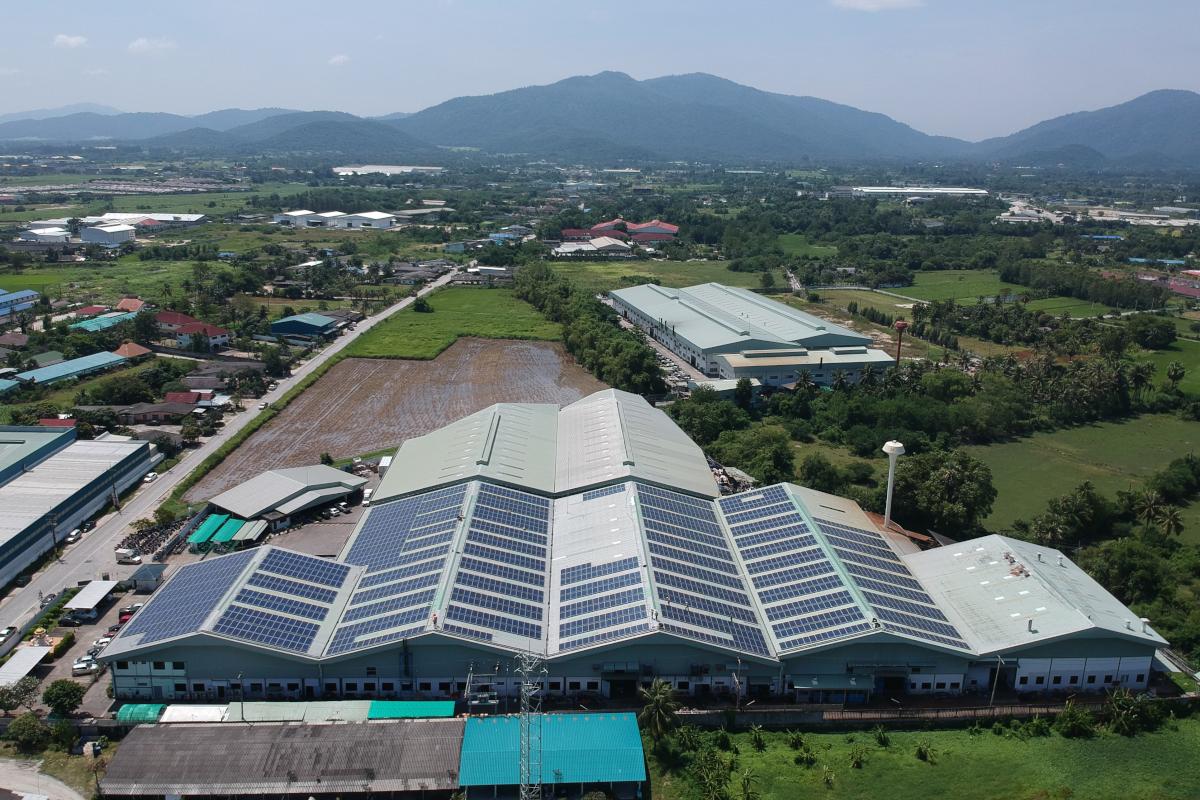 ecoligo Xcellent Solaranlage, Thailand, Übernahme von RWE