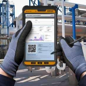 Fit für Industrie 4.0: das neue Industrie-Tablet Tab-Ex 02 von ecom