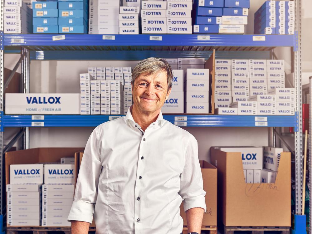 Bernhard Fritzsche, Geschäftsführer der Vallox GmbH (Quelle: ADITO)