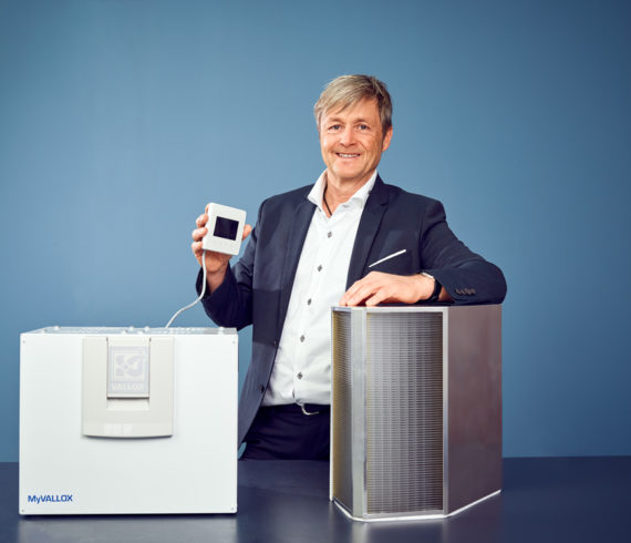 Bernhard Fritzsche, Geschäftsführer der Vallox GmbH Bernhard Fritzsche, Geschäftsführer der Vallox GmbH (Quelle: ADITO)