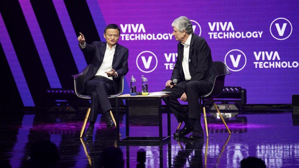 "Jack Ma bei der ""Viva Technology"" in Paris. | Foto: Alibaba Group"